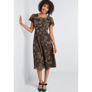 NWOT ModCloth Embellished to Perfection Dress